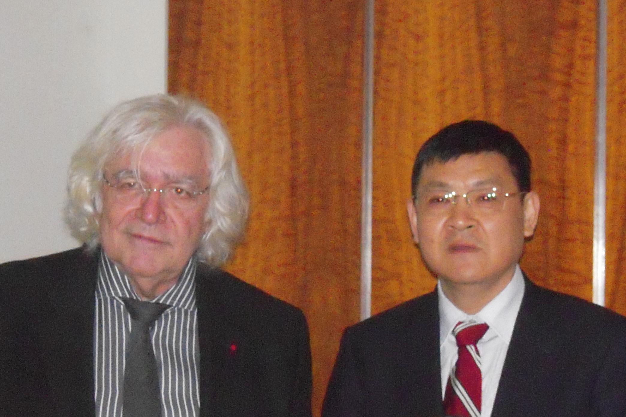 Christian Forestier Li Xiohong