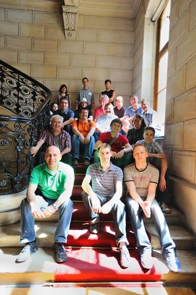 Eleves ingenieurs allemands en visite au Cnam